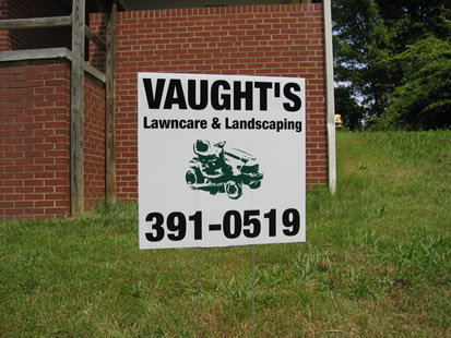Lloyd Signs, Corrugated Yard Signs, Signs in NC, Triad Area